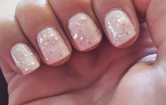 nude with sparkle