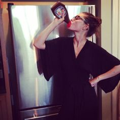 "@phoebejtonkin's photo: ""Chocolate Go Go juice"""