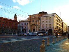 9 Giugno: tramonto su Piazza Garibaldi