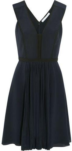 Victoria Beckham Victoria, Silk crepe de chine dress on shopstyle.com