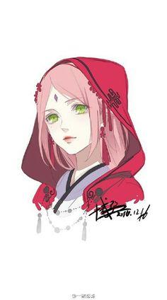 cherry blossom, pink, and naruto uzumaki image