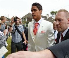 بالصور: حفل زفاف اللاعب الفرنسي رافاييل فاران  #Football #Sport#Alqiyady #القيادي
