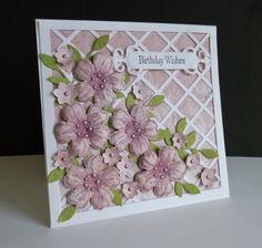 FS464 ~ Birthday Trellis by sistersandie - Cards and Paper Crafts at Splitcoaststampers