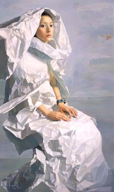 """Zeng Chuanxing ~ Click through the large version for a full-screen view (on a black background in Firefox), set your computer for full-screen. Chinese contemporary art. ~ Miks' Pics """"Artsy Fartsy lV"""" board @ http://www.pinterest.com/msmgish/artsy-fartsy-lv/"""