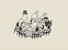 The Moomins came running and sat down to dinner, 'Mother,' began Moomintroll and reached for the sugar, 'don't you think…' and then he stopped short and dropped the sugar bowl with a th… Moomin, Snoopy, Pictures, Fictional Characters, Sugar, Art, Photos, Art Background, Kunst