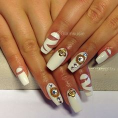 Instagram photo by glamsusie #nail #nails #nailart