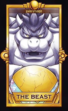 Bowser ============================= For more Super Smash Tarot Cards, please this deck for updates! ==============================