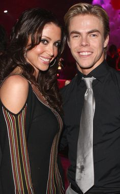 Shannon Elizabeth and Derek Hough from Did You Know These Dancing With the Stars Relationships Happened Off the Show? | E! Online