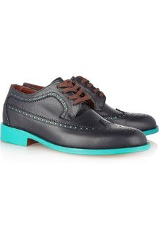 0ece703f8dd If you re going for brogue street style do it with Esquivel colour blocking