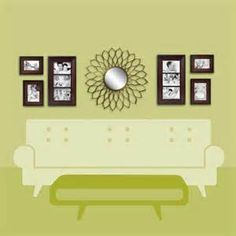over the couch decor:  decorate over sofa wall wall decor http wlldcr com decorate over sofa