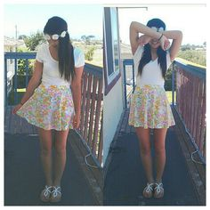 Le outfit~ #floral #forever21 #outfit