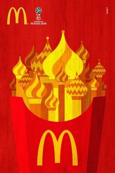 McDonalds World Cup – adgoodness Street Marketing, Ads Creative, Creative Advertising, World Cup 2018, Fifa World Cup, Neymar, Mcdonalds Gift Card, Background Wallpaper For Photoshop, Brand Advertising
