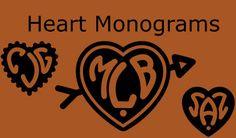 50 Superb monogram fonts
