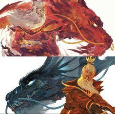 The Last Avatar, Avatar The Last Airbender, Korrasami, Fantasy Dragon, Avatar Aang, Zuko, Film, Anime Art, Marvel