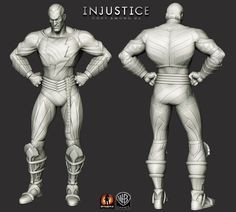 Injustice: Gods Among Us. Some highres ZBrush art.