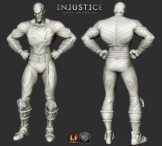 Injustice: Gods Among Us. Some highres ZBrush art.