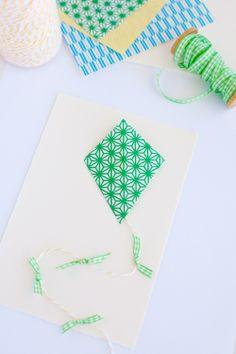 Washi Tape Kids room / cuarto de niños Washi Tape Kite