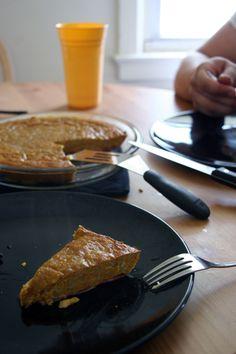 Butternut Breakfast Pie