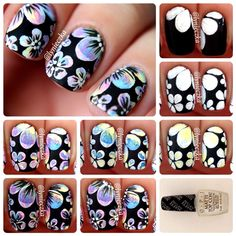 Nail Artists You Should Know – Floral Nail Art Tutorial by Lynieczka