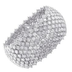 Magnificent 100 CT. Diamond Bracelet | More here: http://mylusciouslife.com/photo-galleries/bling-fling/
