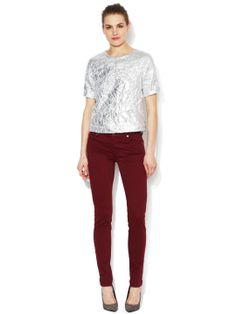 7 FOR ALL MANKIND - The Slim Illusion Skinny Jean: port