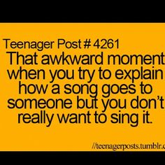 Ya.. And at the  oncert she didnt sing the one song that went....haha