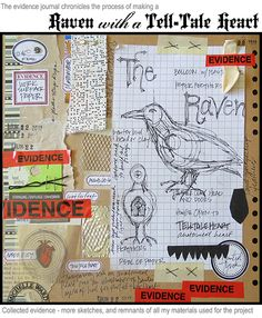 Raven with a Tell-Tale Heart  Michelle Ward