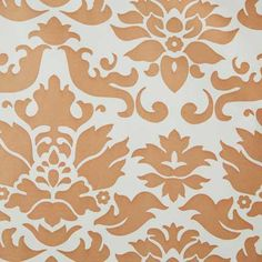 Tablecloth, Damask Butterscotch - www.lineneffects.com - Linen Effects Party, Event, Wedding, Corporate rental décor. #copper #white #damask #satin #contemporary #gala #fall #holiday