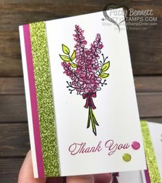 Lots of Lavender Sale-a-Bration free stamp set