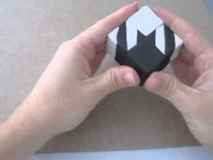Polymer clay houndstooth cane - YouTube