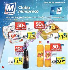 Antevisão Promoções Folheto Minipreço - Especial Clube Minipreço - de 20 a 26 de Novembro - Parte1