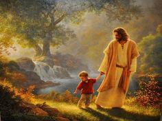 Imagen caminando con Jesus