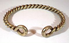 Our traditional Celtic torcs are hand-made to order. The type of necklace worn by the ancient Celts was called the torc.