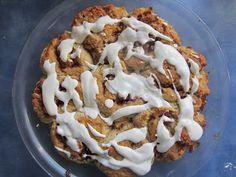 Raia's Recipes: Cinnamon Apple Rolls with Sour Cream Icing {Gluten, Egg & Sugar Free}