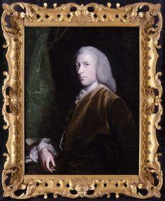 Joshua Reynolds - Portrait of Mr and Mrs John Patheriche of Alderminster 1718-1792 image 2