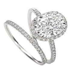 I love oval rings!....Harry Winston Oval Engagement ring, meaning behind the oval shape:This shape is nearly the same as the traditional round but shows a bit of creativity and individuality. The similarity to an egg shape may also represent fertility or a desire for children, but it is a stable and faithful diamond shape.