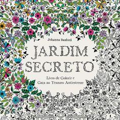 Livro para Colorir - Jardim Secreto: Livro de Colorir e Caça ao Tesouro Antiestresse