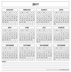 2017 Printable Calendar Printable Yearly Calendar, Free Printable Calendar Templates, Calendar 2019 Printable, Printable Calendar 2020, Printable Blank Calendar, Calendar Ideas, Calendar Calendar, Calendar Design, Pocket Calendar