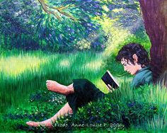 Frodo baggins by Anne-Louise