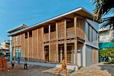 Centro Juvenil en Camboya: el Bambú al servicio de la Comunidad