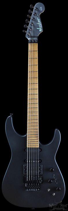 Jackson Custom Shop Limited Edition Phil Collen Flat Black PC-1 | Electric Guitars | Wild West Guitars