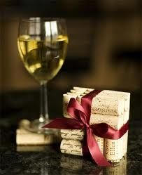 Wine cork coasters...will be making these!