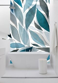 Motif washable wallpaper WAVES by Creativespace