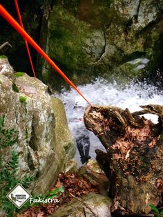 Canyoning in Fakistra canyon on Pelion Magnesia Greece