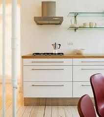 modern kitchen, scandinavian design floors