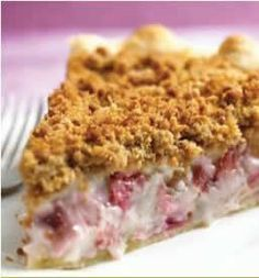 Rhubarb Sour Cream Pie | Relish Cooking Studio