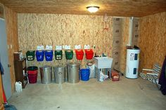 I Like The Idea Of Individual Feed Buckets Hanging Would Prefer Small Round Pails Instead To Bring Bins In Stalls