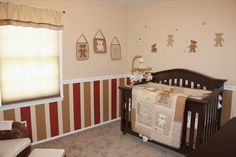 Nursery painting idea, but in different colors. Maybe pink?