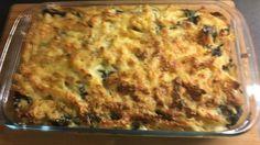 Pasta met spinazie uit de oven van Brigitte
