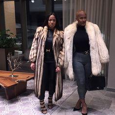 Nya Lee & Stephanie Santiago #FurAllWinter